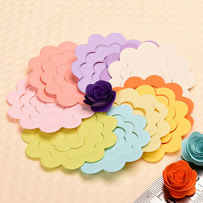 20pcs 10 Color Lot rose Quilling Paper Mixed Color Origami DIY Paper Craft Decor