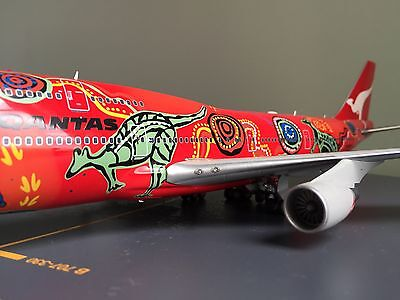 JC Wings 1:200 Qantas Airways B747-400 VH-OEJ Diecast Model With Stand