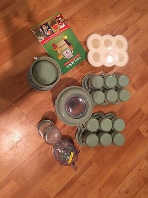MAGIC BABY BULLET COMPLETE SET WITH EXTRAS Baby Food Blender