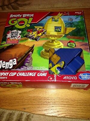 Angry Birds Trophy Cup Challenge Game By Hasbro Jenga A6438