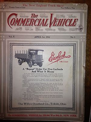 magazine  THE  COMMERCIAL VEHICLE  APRIL 1 1914