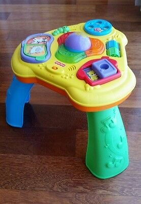 Baby Activity Table From Fisher Price