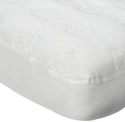 Travel Cot Water Resistant Mattress protector - Embossed Sheep 1394180,,