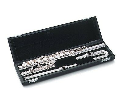 Pearl Student Flute P505EUS  with Curved Head Joint Package (P-505EUS)