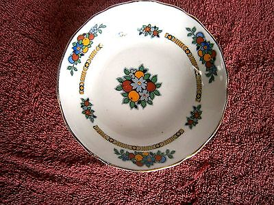 Vintage  Furnivale  Chins  Dessert  Plate    Made  In  England