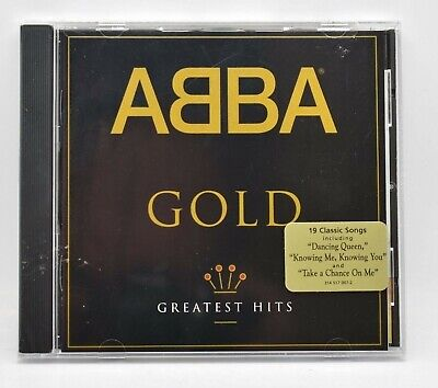 ABBA Gold Greatest Hits Music CD Brand NEW Sealed Polydor