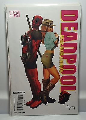 Deadpool: Merc with a Mouth #5  Sharp Corners  Nice Copy!   Free Shipping