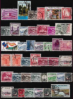 British Commonwealth Stamps,Service Stamps,Pakistan Stamps
