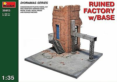 MiniArt #36053, 1/35 ~ Ruined factory with base