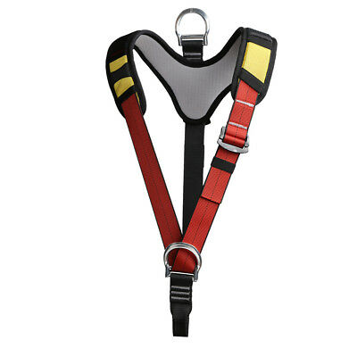Safety Shoulder Strap Climbing Mountaineering Harness Caving Protect Gear