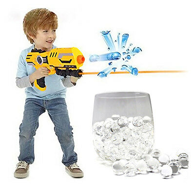 10,000pcs Mini 8mm Clear Jelly Water Balls Bullets for Toy Guns Kid Toy Gift Fun
