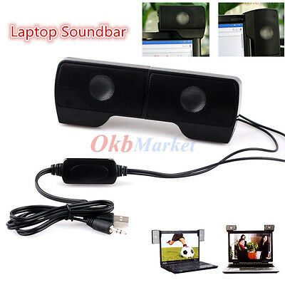 Portable USB Multimedia Mini Music Speaker for iPod Laptop Computer PC Notebook
