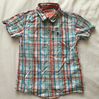 Smart Or Casual Boys Checked Shirt 5-6 Years