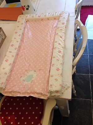 mothercare changing mat pink