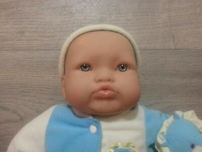 Beautiful 38cm Berenguer Baby with Original outfit. Excellent Condition