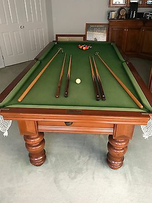Pool Table Snooker Billiards 8Ft