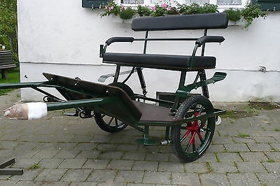 KUFA - carriages, Sulky, Gig, Leisure carriage, Einachser Coach NEW