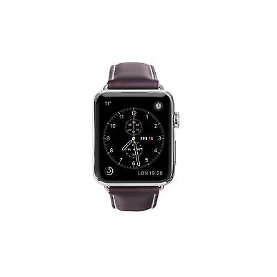 dbramante Copenhagen Apple Watch 42mm Lederarmand hunter