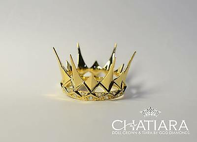 Diamond Crown Tiara Fashion Royalty Dolls Barbie Evil queen