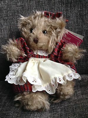 """RUSS BERRIE """"Luv-Pet"""" BRITTANY JR. Plush Teddy With Dress"""