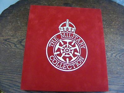 18 RING BINDER 22 SILK COVERS THE MILITARY COLLECTION LTD EDTN No 0065 of 1050