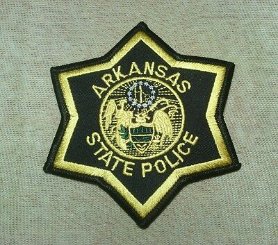 AR Arkansas State Police Patch