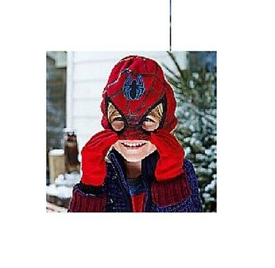 Avon Spideman Boys Hat & Gloves Set / Marvel Characters / Kids Childrens Infants