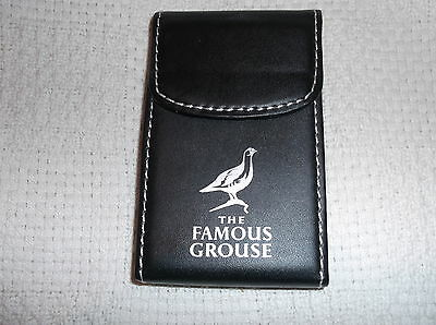 The Famous Grouse Whisky Advertising Business Card Holder New