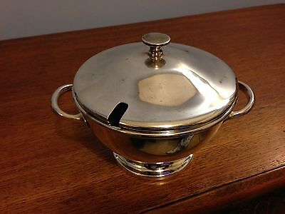 Silver Plate Serving Bowl with Lid