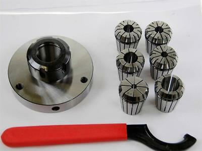 ER32 Collet Set with 100 MM Diameter Chuck For Lathe  From Chronos