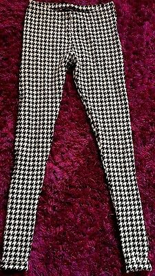 Women's New Look Thick Patterned Leggings Size 8