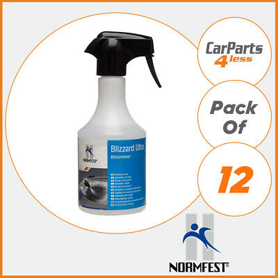 Blizzard Trigger Windscreen Window De Icer 12x500ml 6 L Winter Ice - Normfest