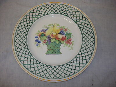 Villeroy & Boch Basket Dinner Plate Mint Condition