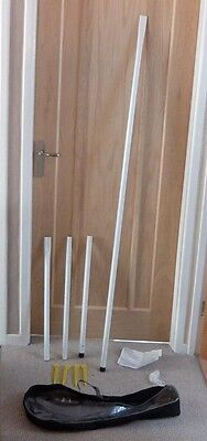 Badminton Net Poles with bag - NO NET INCLUDED