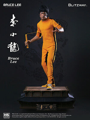 Bruce Lee 1/3 Infinite Scale Hybrid Statue 40th Anniversary Tribute  BLITZWAY
