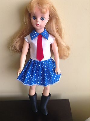 BRAZILIAN VINTAGE SUSI DOLL BY ESTRELA FROM 60's