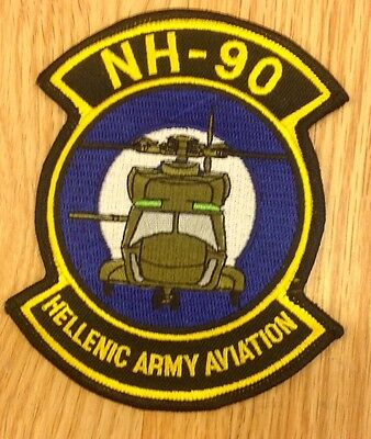 NH-90 Hellenic Army Aviation Helicopter  patch