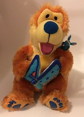 Jim Hensen Bear In The Big Blue House Talking and Moving Plush 2000