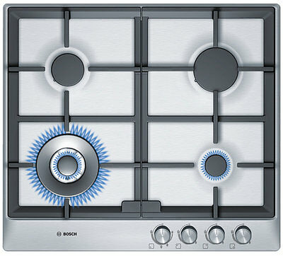 NEW Bosch PCH615B9TA 60cm Serie 6 Natural Gas Cooktop