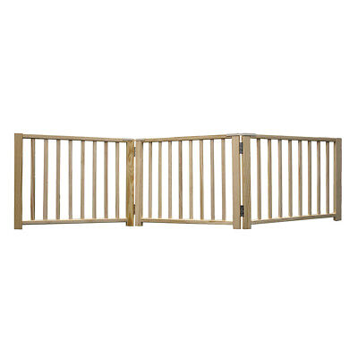 Four Paws Freestanding Walk Over Pet Gate