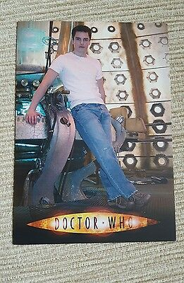 BBC Wales Doctor Who/Torchwood John Barrowman Captain Jack Promotional Postcard