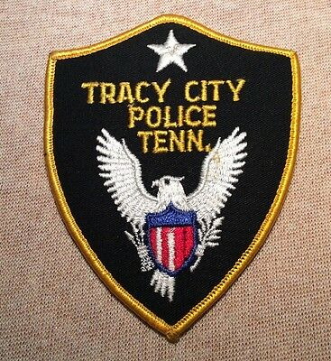 TN Tracy City Tennessee Police Patch