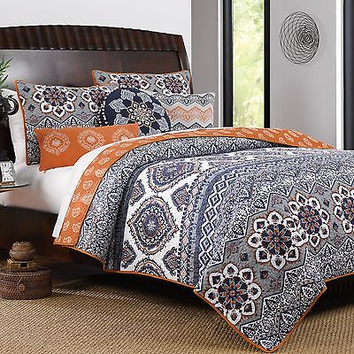 Greenland Home Fashions Medina Reversible Quilt Set