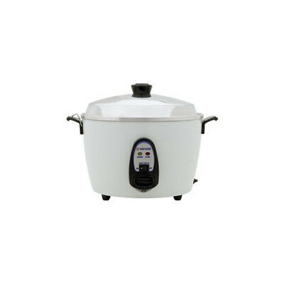 Tatung 6-Cup Multifunction Indirect Heat Rice Cooker Steamer and Warmer TGFX1002
