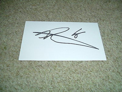 Liam Moore - Reading - 2016-2017 - Signed 5 X 3 White Card