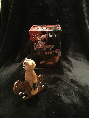 Bad Taste Bears- Rocky - Dungeon Collection- Excellent Condition
