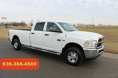 2012 Ram 2500 ST 2012 ST Used 5.7L V8 16V Automatic 4WD Pickup Truck Crew Long Bed Clean 1 Owner