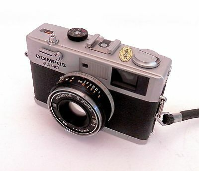 Olympus 35 RC with 42mm F2.8 E.Zuiko Lens ::FREE UK POST:: 638