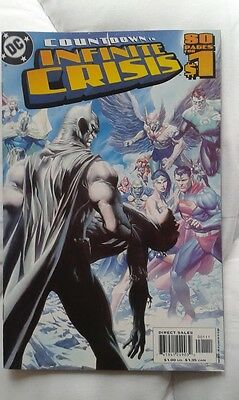 COUNTDOWN TO INFINITE CRISIS issue 1 DC Comics Geoff Johns