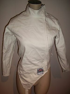 Blue Gauntlet Fencing Jacket   size 32 women or child  ( XS )